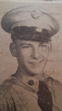 My dad as a young military man